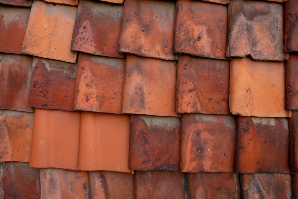 leaky orange roof